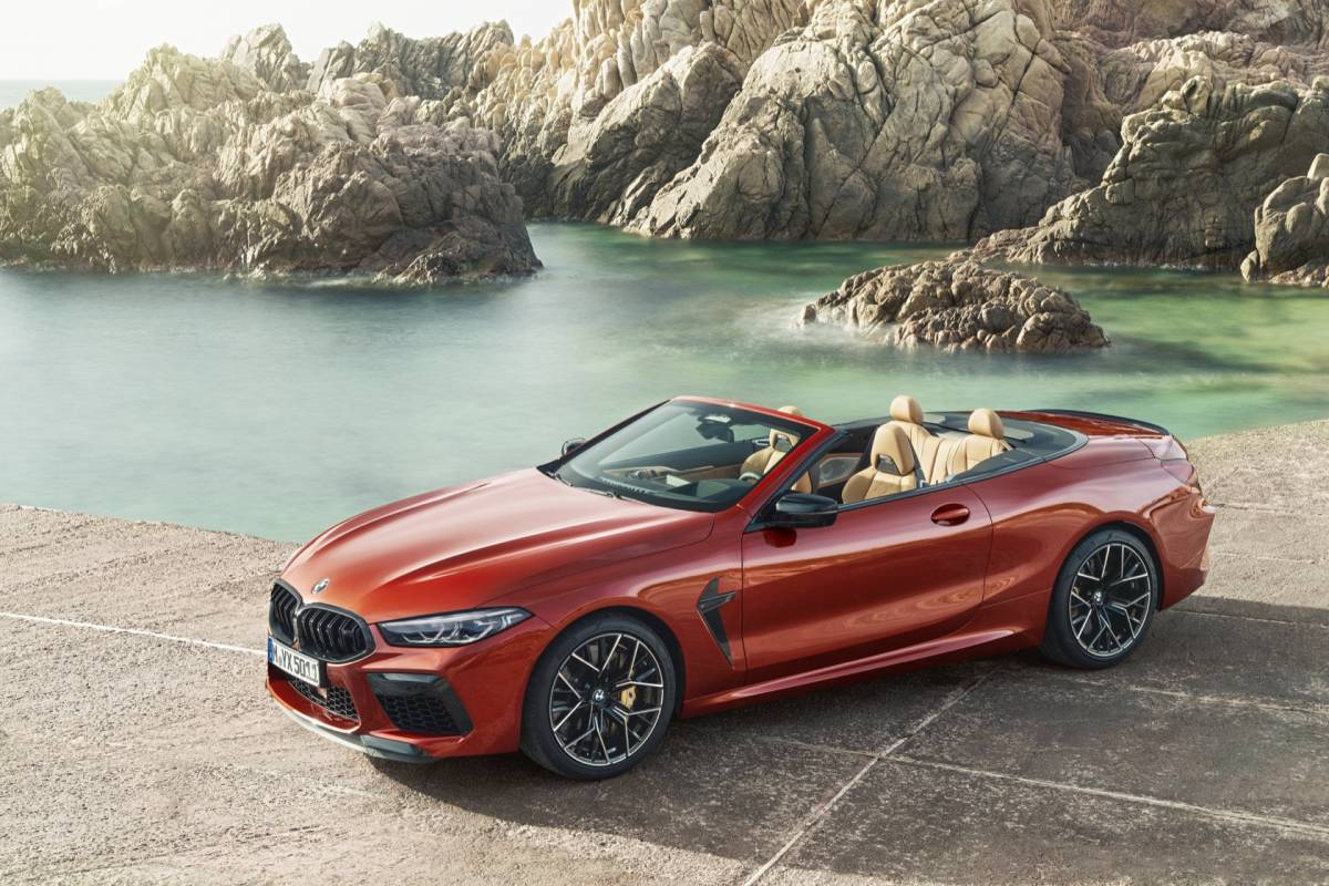 2020 Bmw M8 Revealed Coupe Convertible And Competition Slashgear