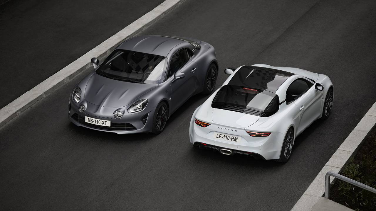 The Alpine A110S is a feistier sports coupe you still can't have