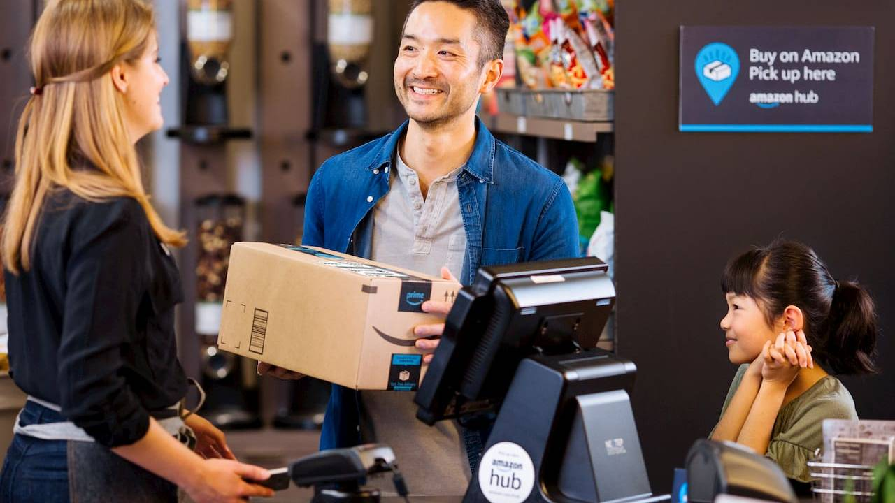 Amazon Counter serves up in-person pickup at retail stores