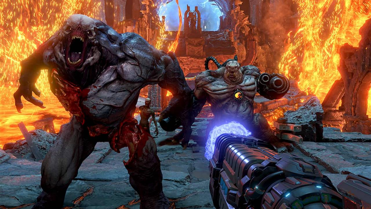 DOOM Eternal release date announced, Battlemode multiplayer teased