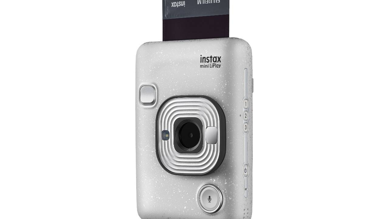 Fujifilm Instax Mini LiPlay camera adds audio to your instant photos