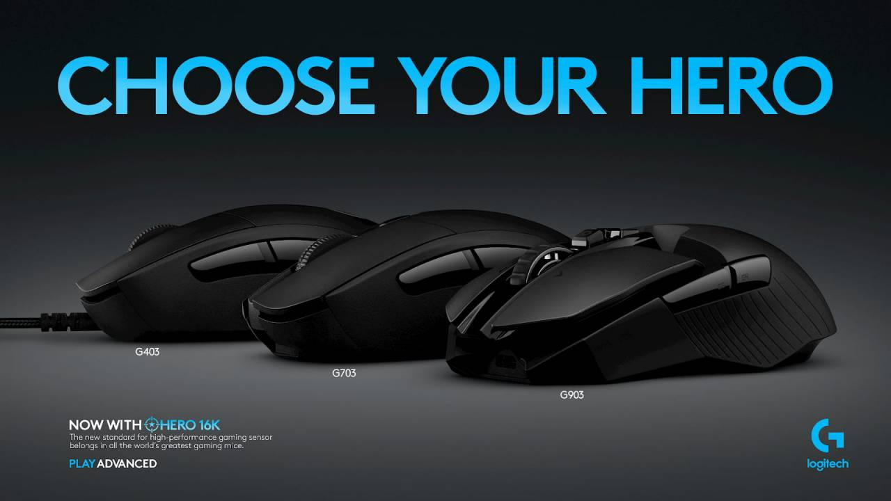 Three Logitech G mice get HERO 16K upgrades today