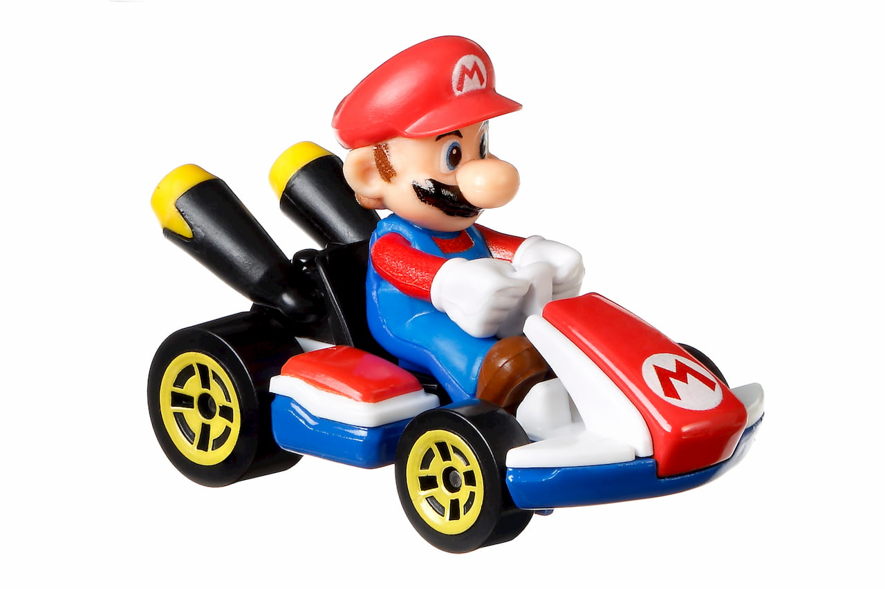 Mario Kart Hot Wheels cars and tracks are coming this summer