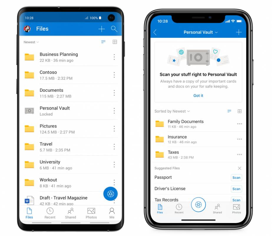OneDrive Personal Vault adds secure folder as Microsoft