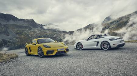2020 Porsche 718 Cayman GT4 and 718 Spyder Gallery