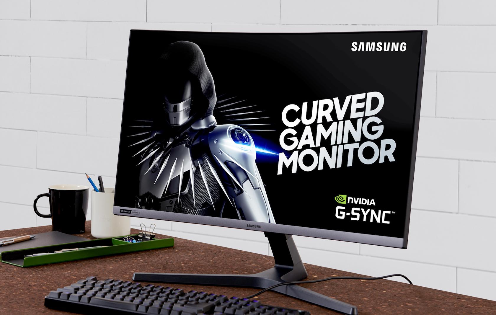 Samsung 27-inch CRG5 curved gaming monitor hits 240Hz - SlashGear