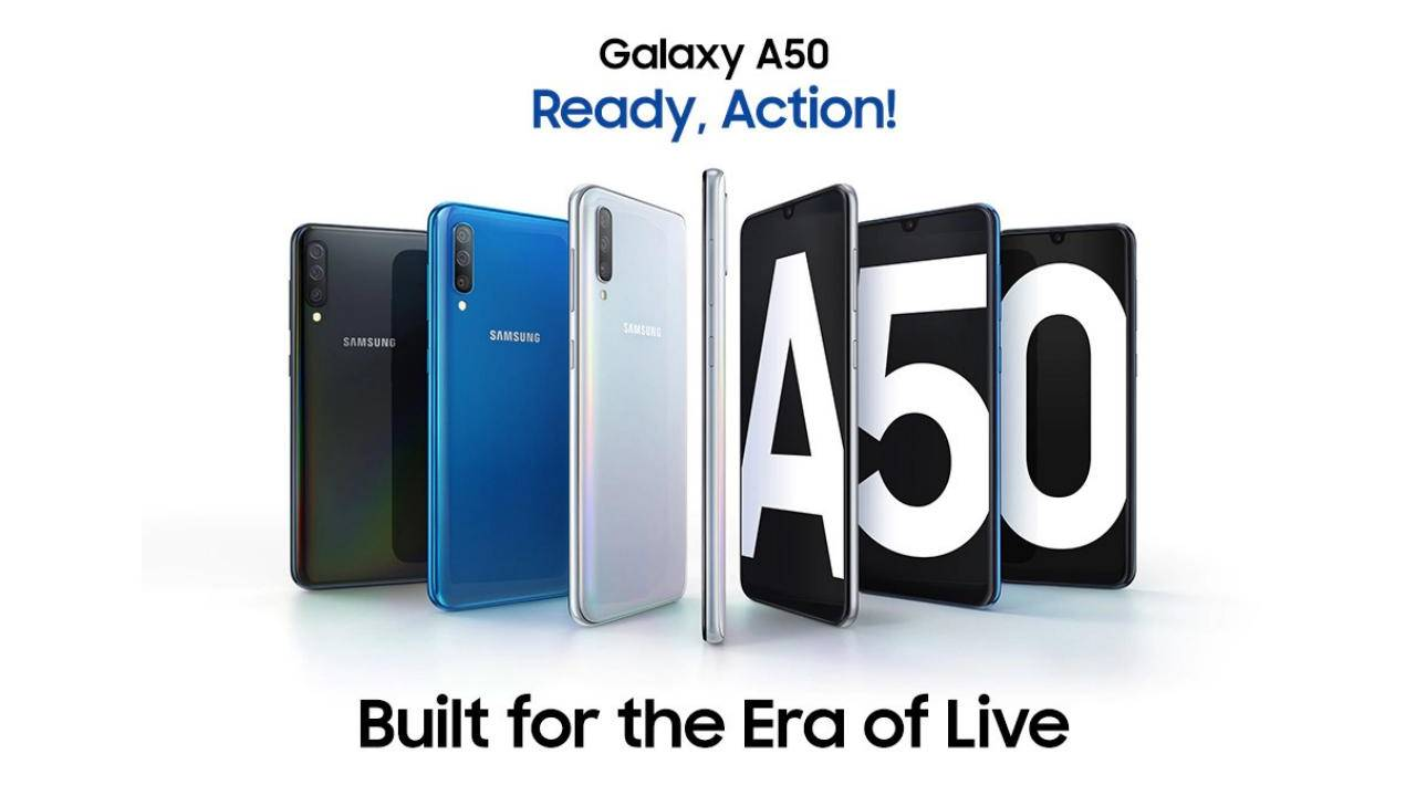 Galaxy A50 leads mid-tier Galaxy A series entry into the US