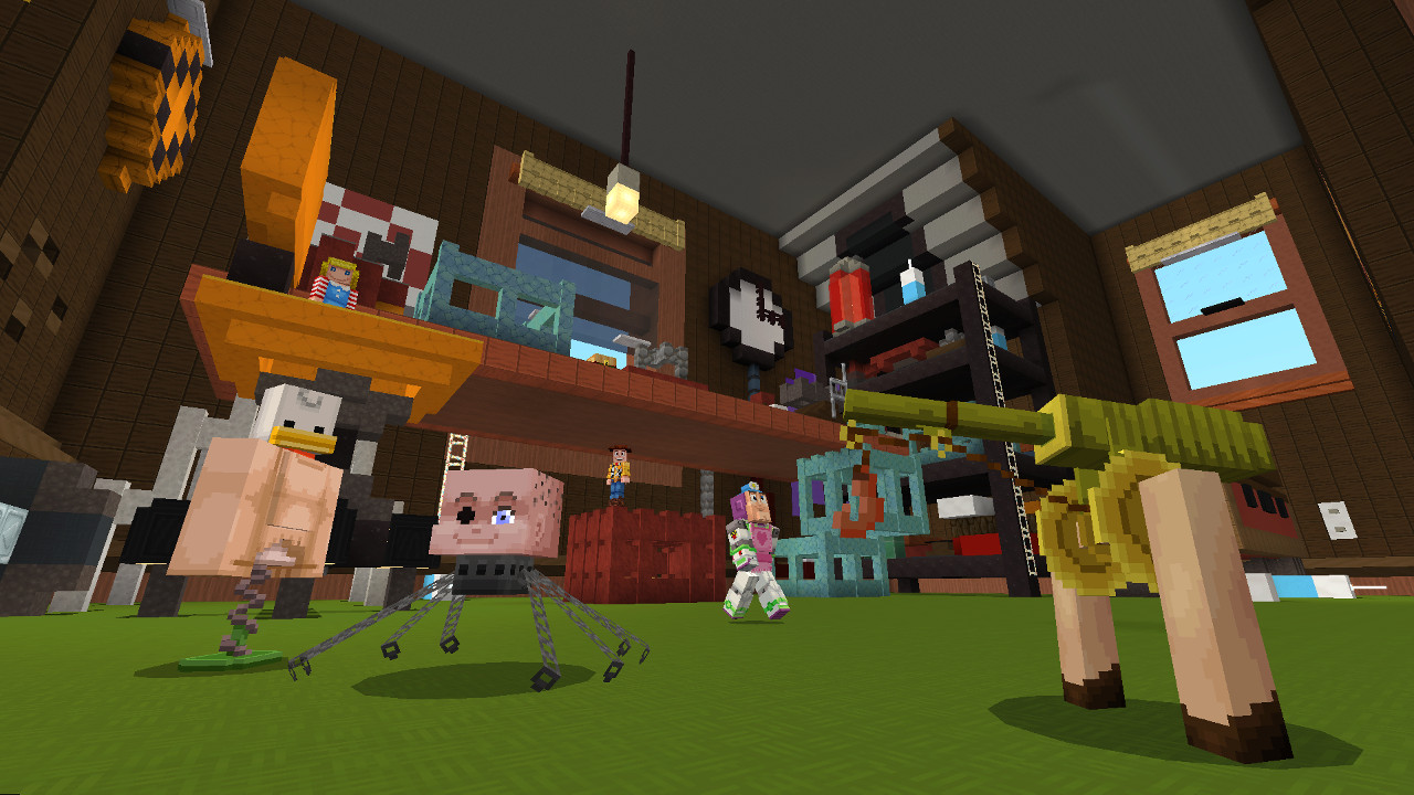 Minecraft Toy Story Mashup Lets You See The World From Toys Eyes Slashgear