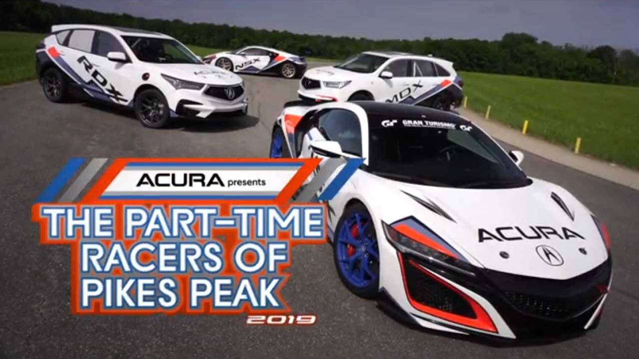 Acura engineers to race four vehicles up Pikes Peak