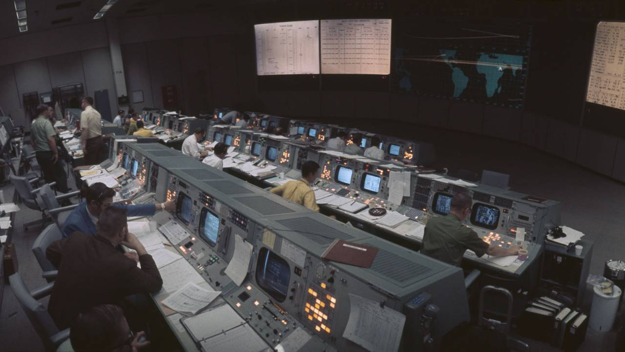 NASA restored Apollo 11 Mission Control and the detail is incredible