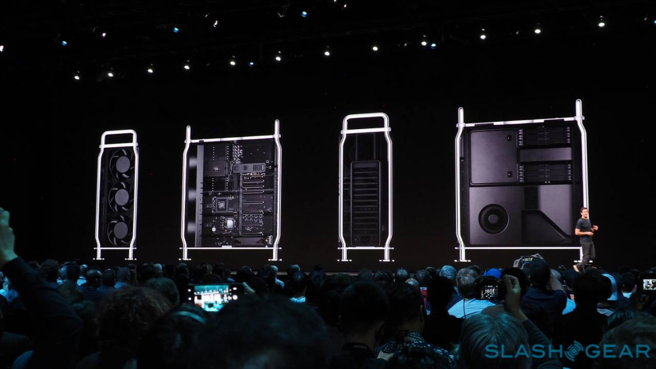 2019 Mac Pro modular system in detail