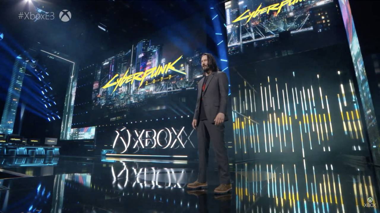 Cyberpunk 2077 gets release date and Keanu Reeves at E3 2019