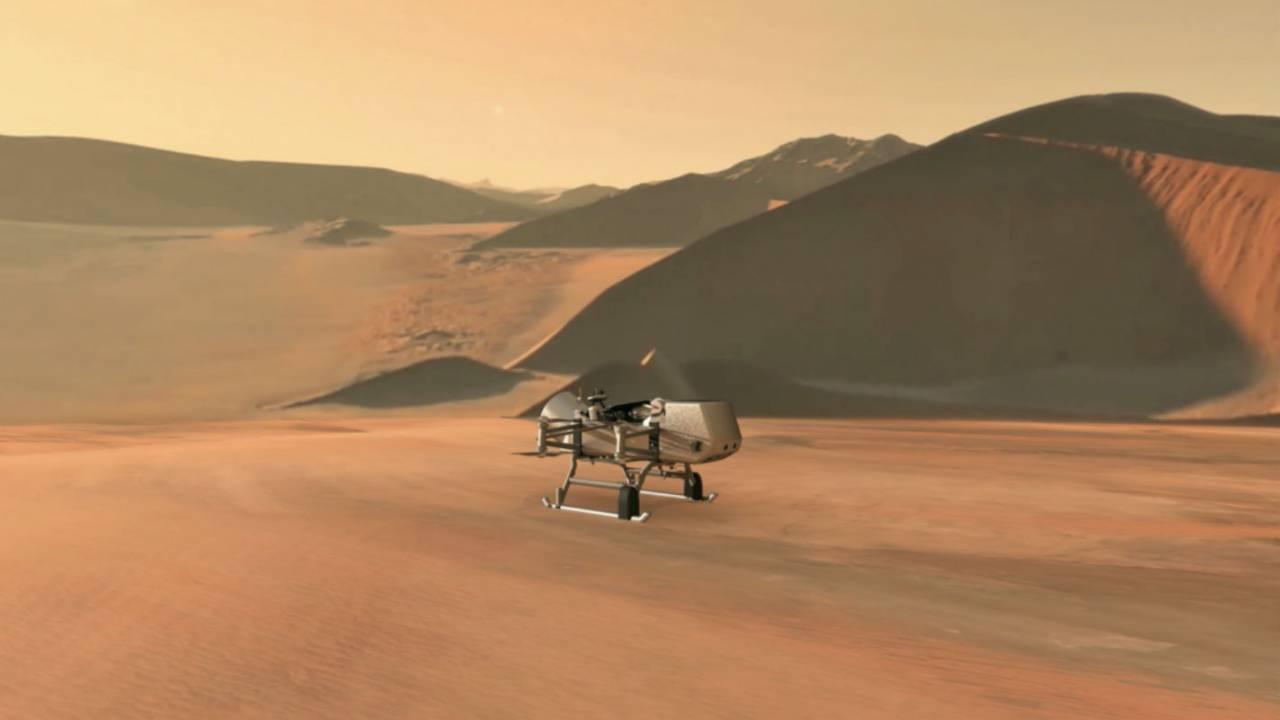 NASA announces 2026 mission to explore Saturn's moon Titan