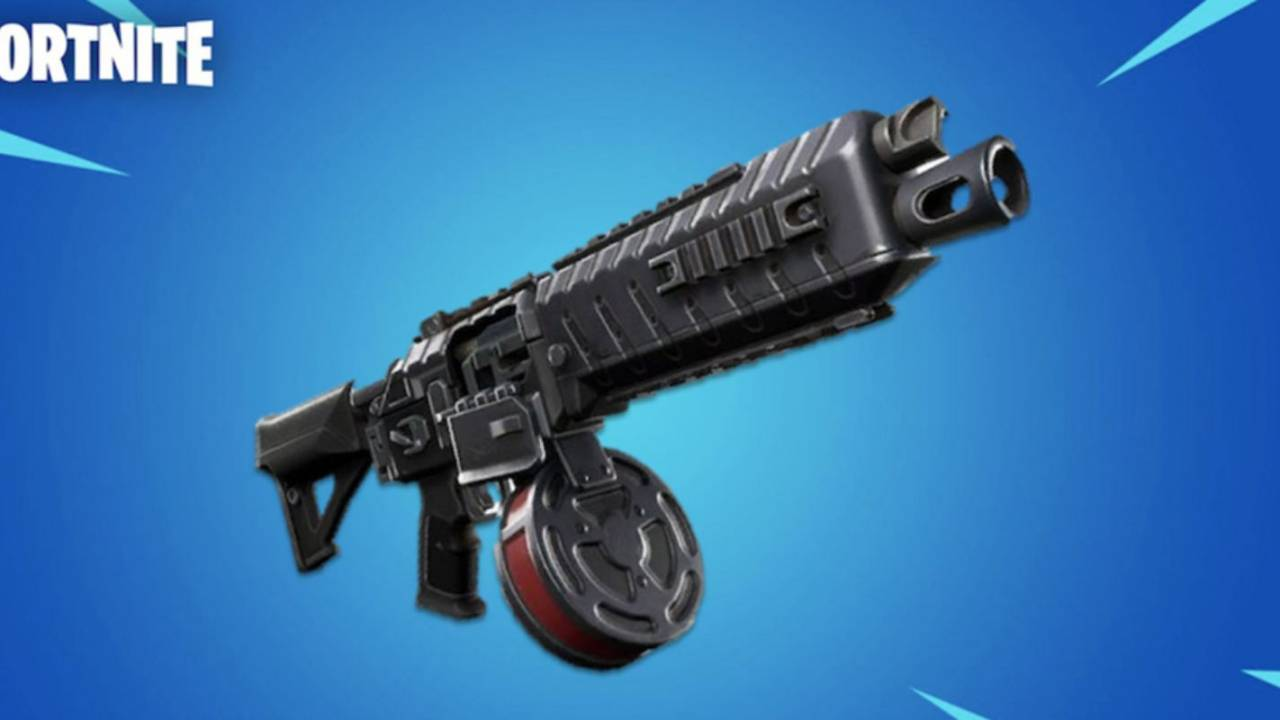 Fortnite's leaked Drum Shotgun appears in gameplay footage