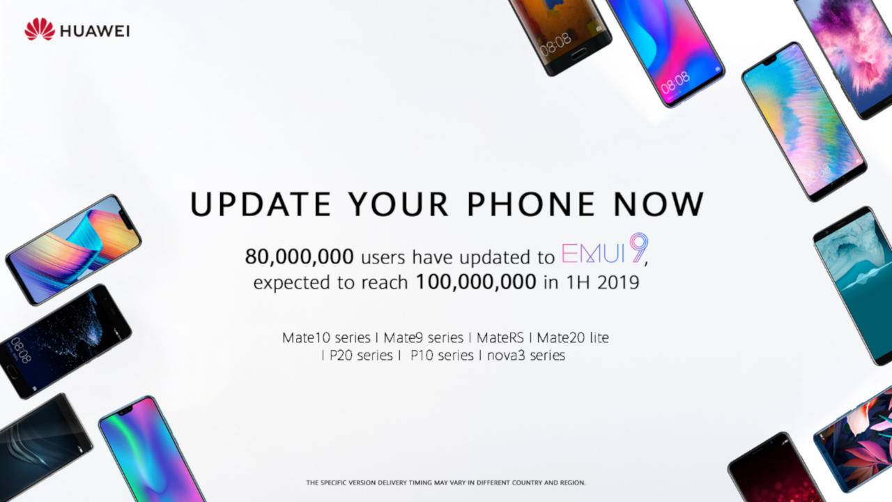 Huawei EMUI 9 with Android 9 Pie rolls out to Huawei P10, Mate9
