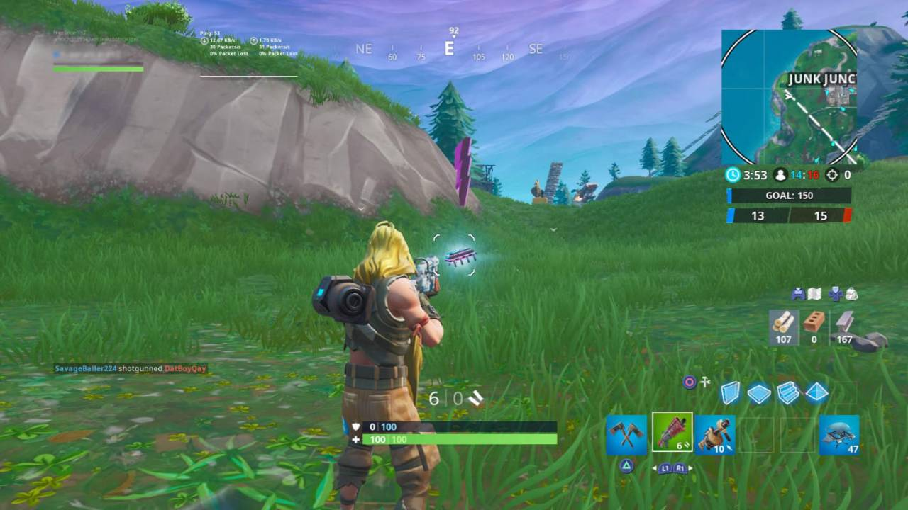 Fortnite Fortbyte #20 location is dictated by the Storm