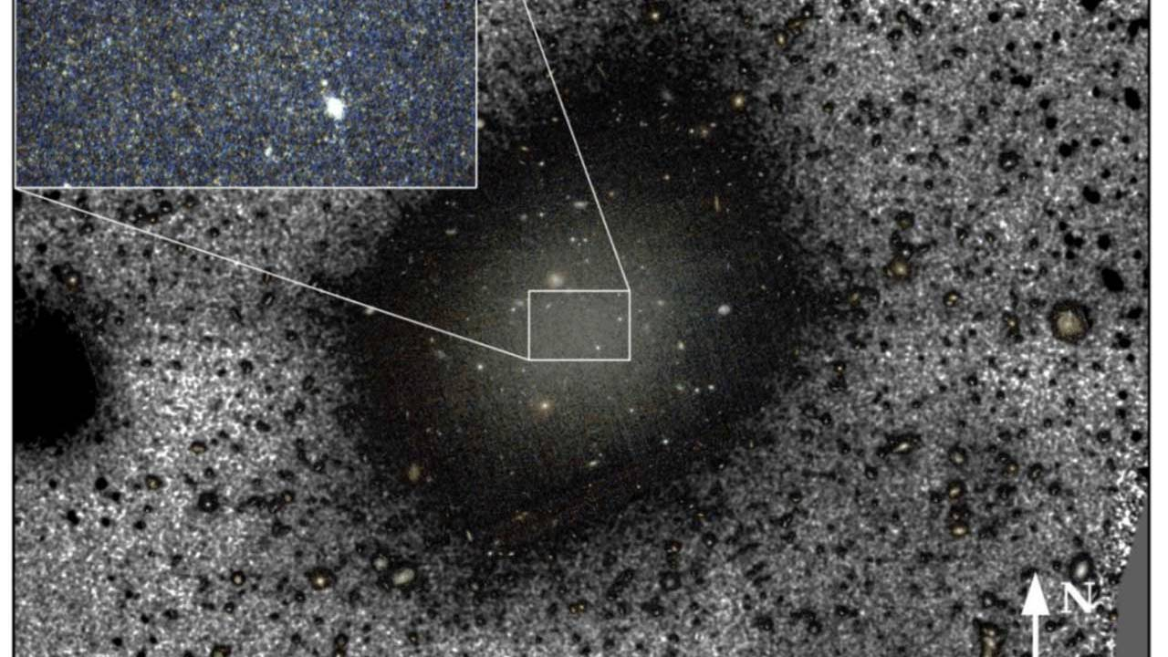 Scientists solve the mystery of a galaxy lacking dark matter