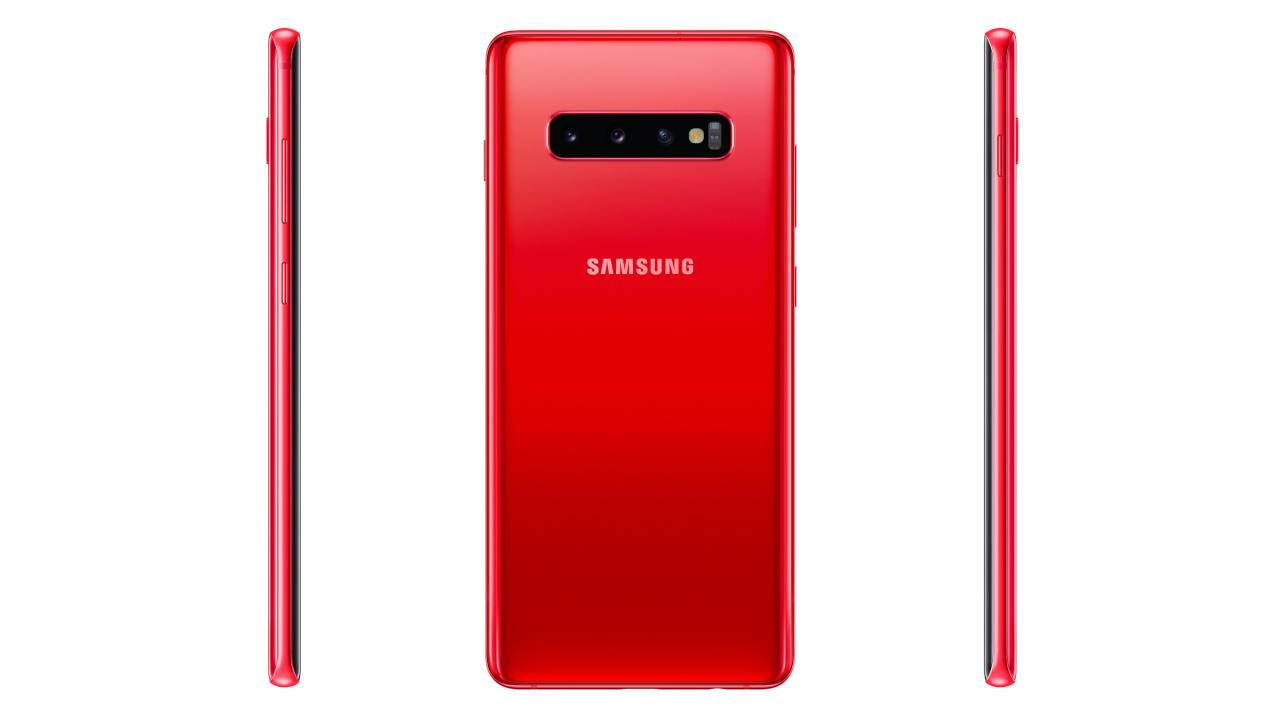 Galaxy S10 Cardinal Red color breaks cover in some markets