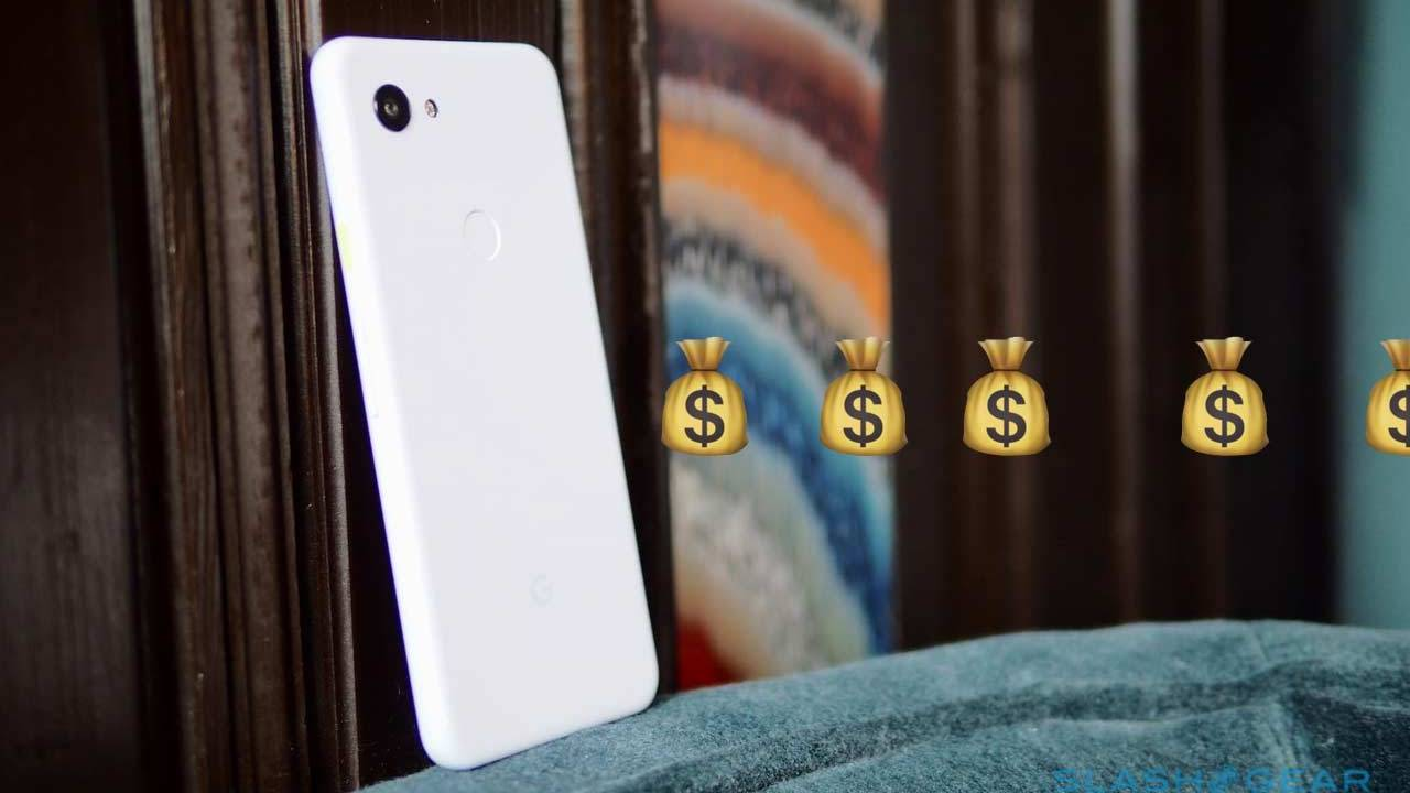Google Pixel 3a pays users to sell their phone