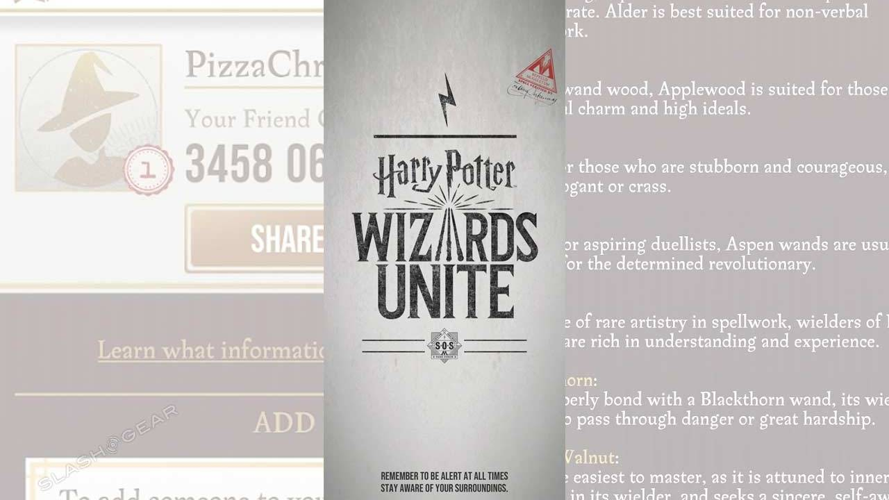 Harry Potter Wizards Unite starter pack: Tap these 5 hidden settings