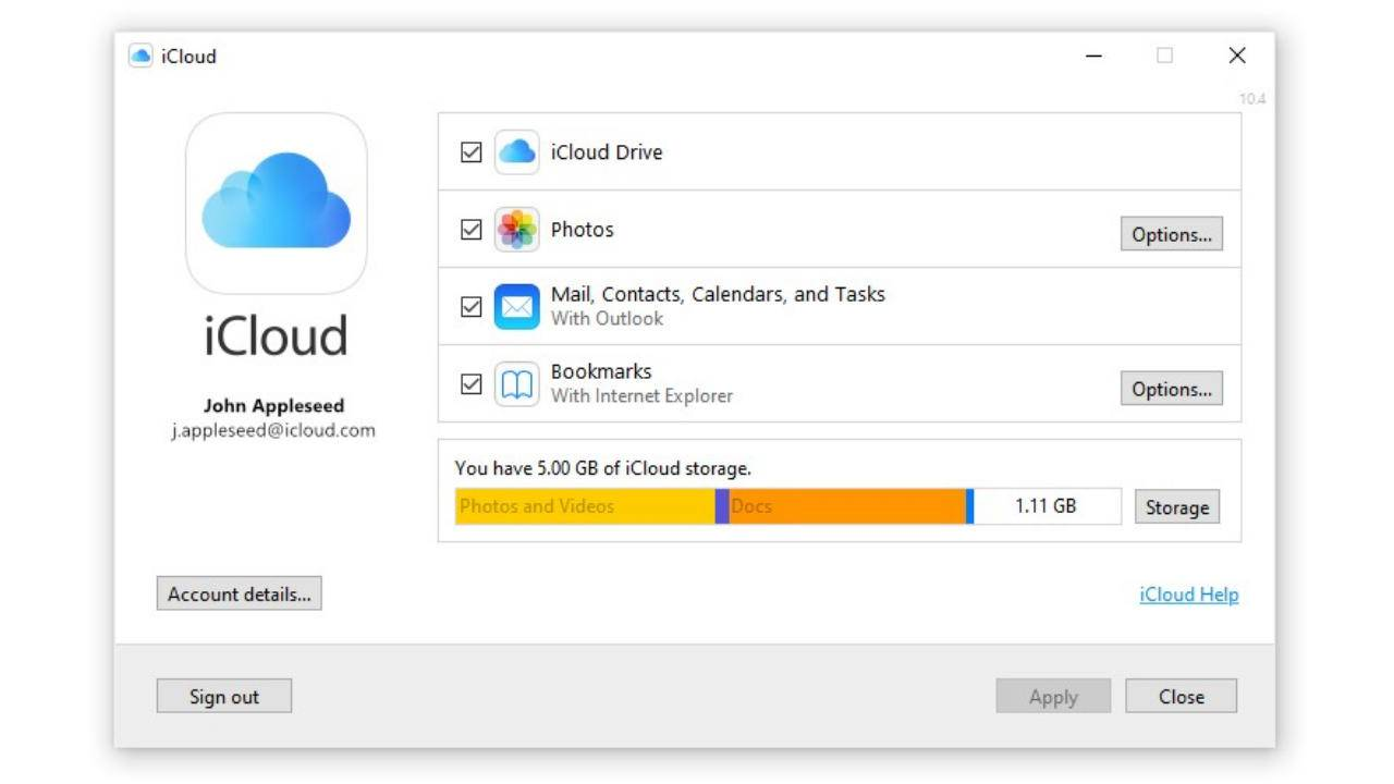 iCloud for Windows is now in the Windows Store