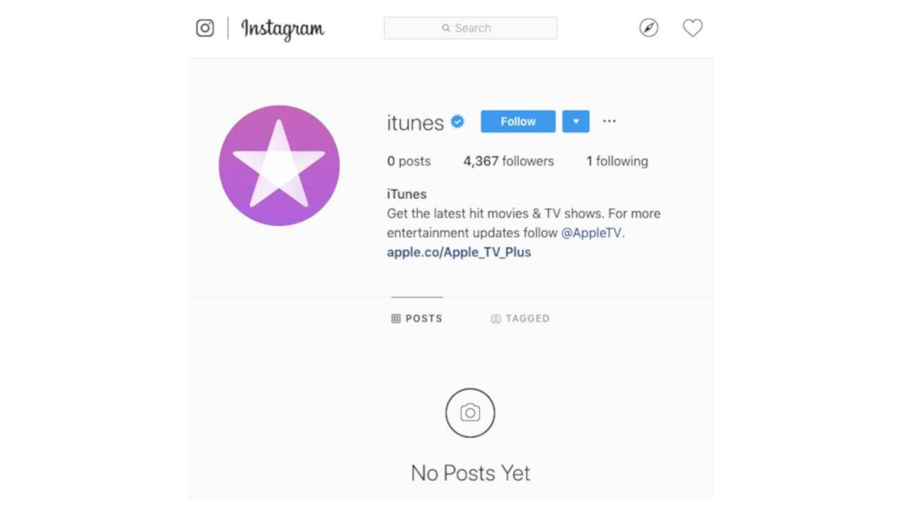 iTunes Facebook, Instagram pages are wiped clean as end draws near