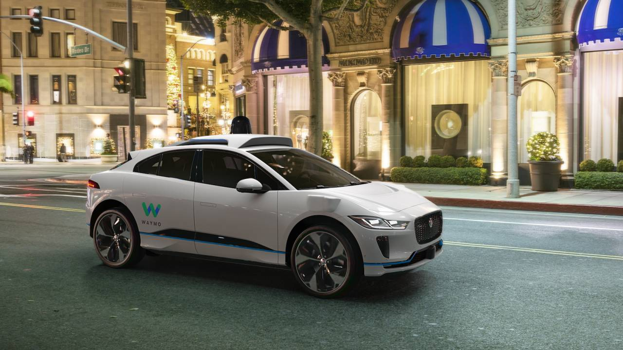 Waymo's self-driving Jaguar I-PACE EVs have hit the road