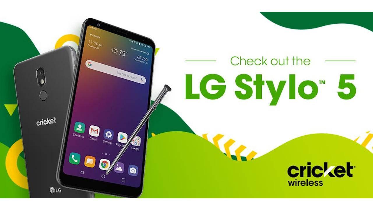 LG Stylo 5 launch for pen lovers on Cricket Wireless