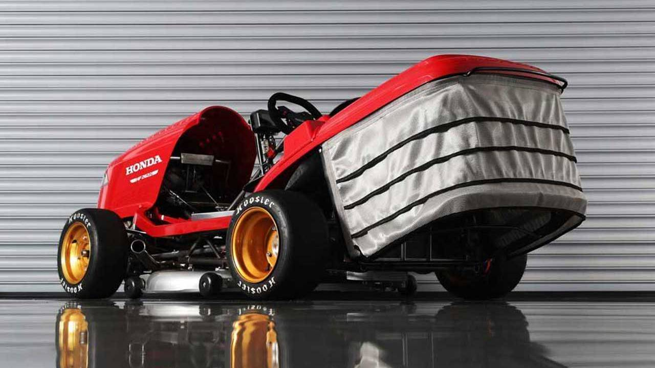 Honda Mean Mower V2 hits 100 mph in 6.2-seconds