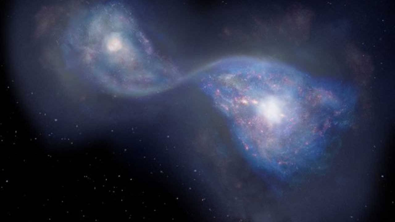ALMA telescope discovers oldest merging galaxies ever