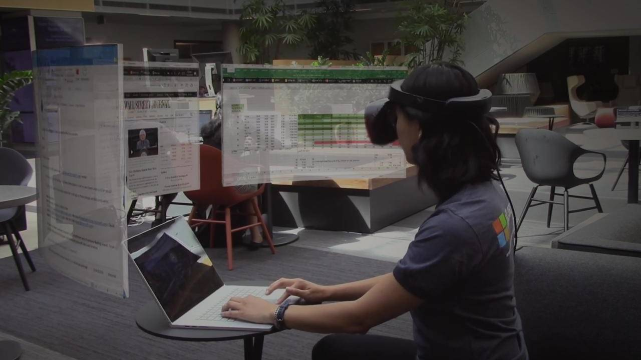 Microsoft Mt. Rogers has you wearing VR headsets in public for productivity