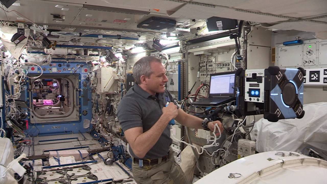 NASA's first Astrobee robot is now flying around the ISS