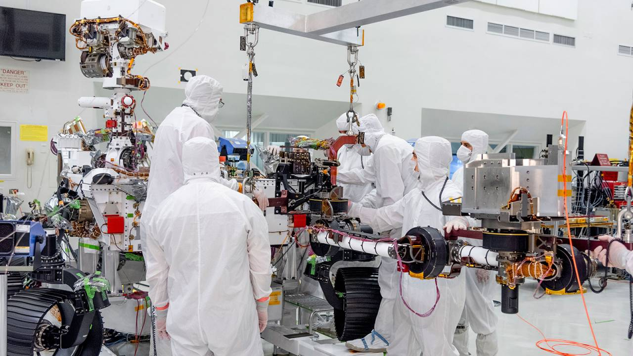 Mars 2020 rover gets its impressive robotic arm