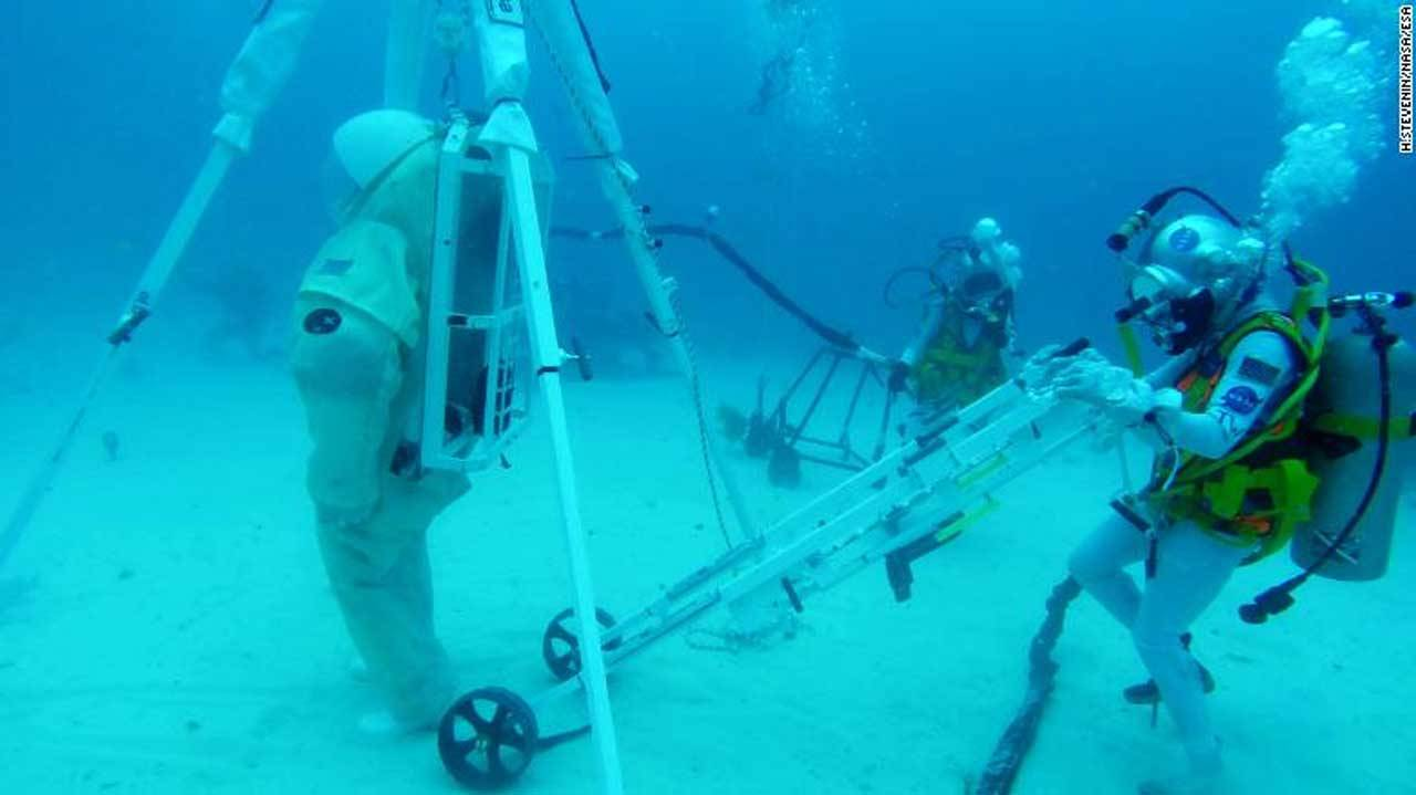 NASA and ESA tests system for recovering downed astronauts on the moon