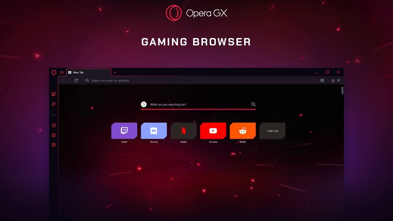 Opera GX browser for gamers stops runaway CPU and RAM use
