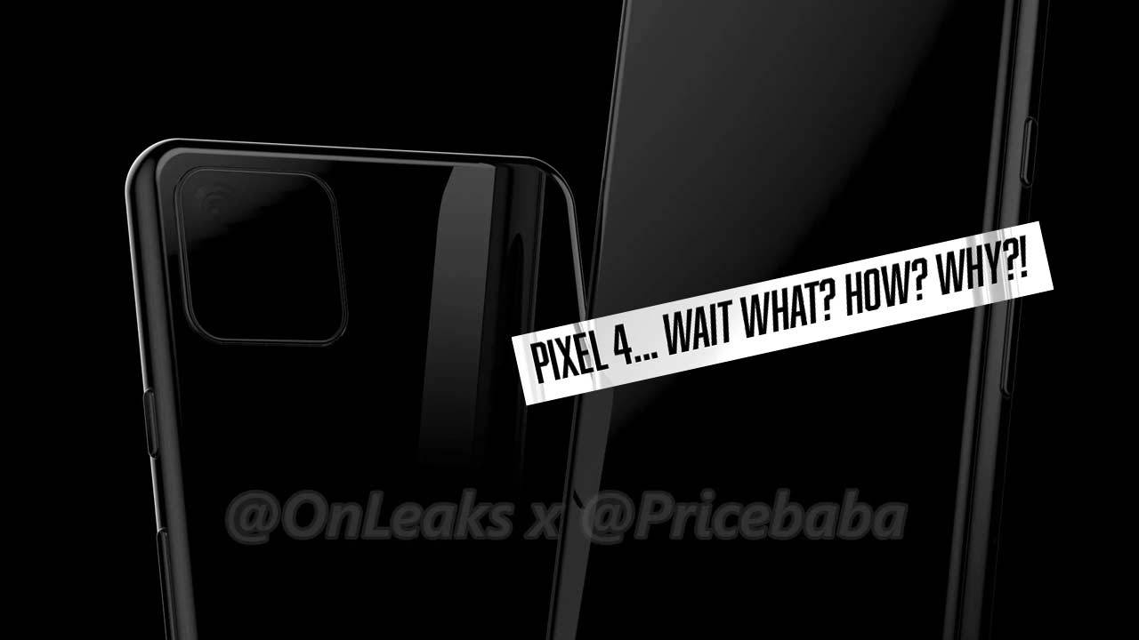 Google Pixel 4 leak looks shockingly like iPhone 11