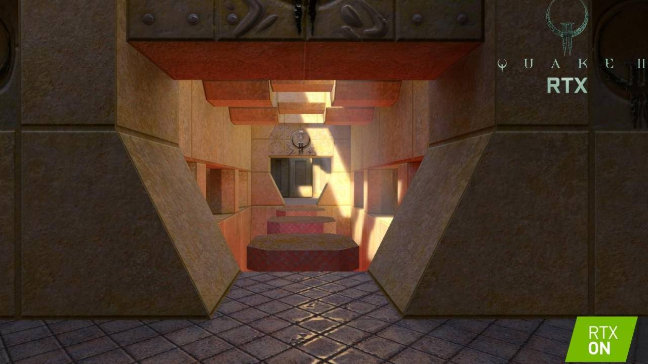 Quake II RTX shows what NVIDIA's ray-tracing tech can do for old games
