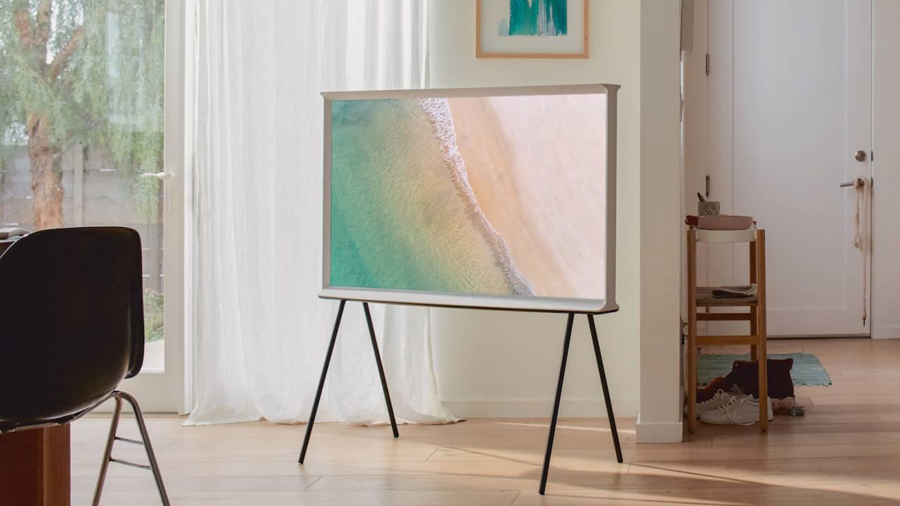 Samsung's striking The Serif 2019 TV finally goes on sale