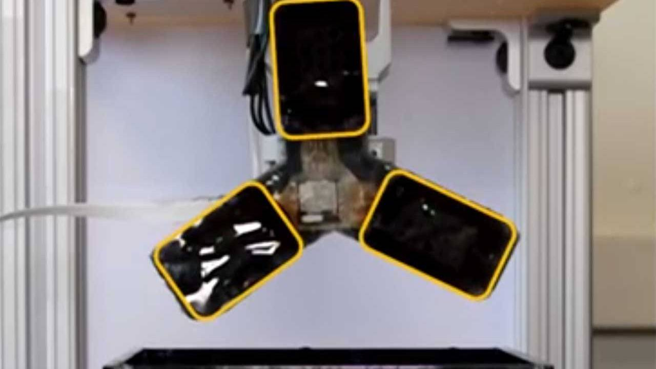 Researchers create a soft robotic arm that tastes using bacteria