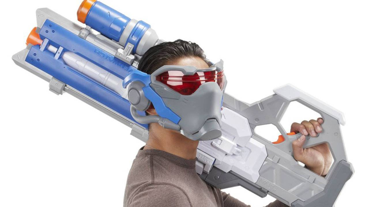 Hasbro reveals NERF Soldier 76 Blaster and wearable visor