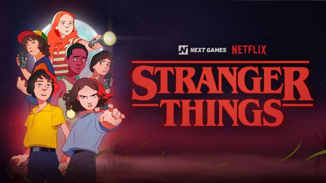 2020 Stranger Things location-based RPG will look like an '80s cartoon
