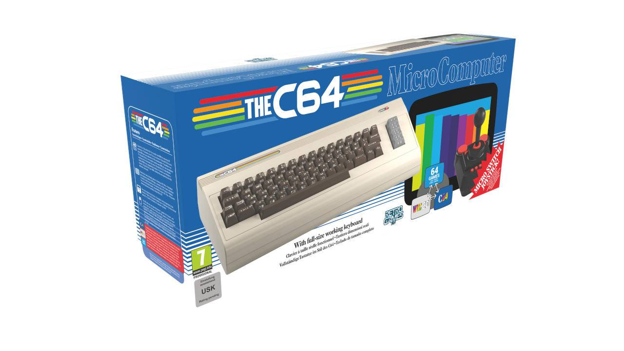 The C64 brings the Commodore 64 back to life in full size
