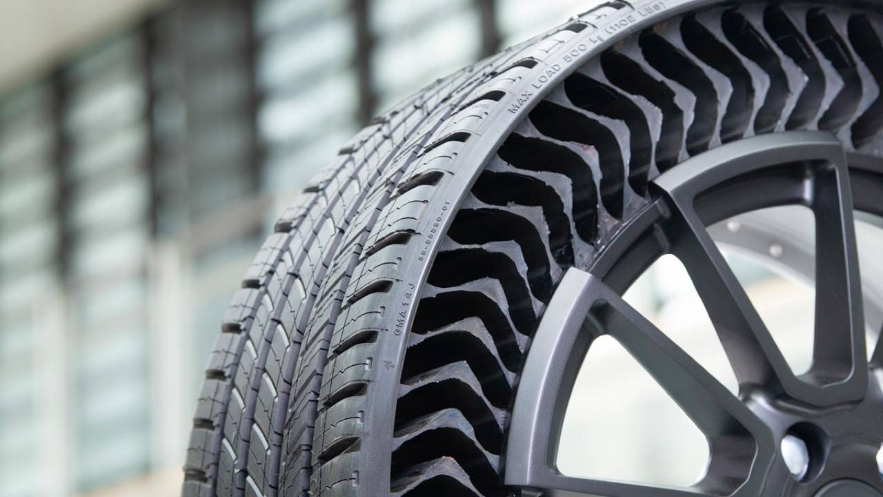 These airless tires could make GM cars puncture-proof from 2024