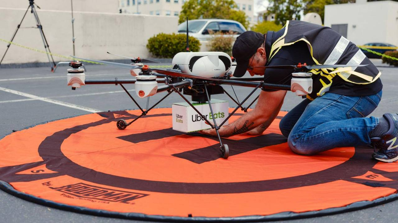 Uber Elevate wants to start delivering Big Macs via drones by summer