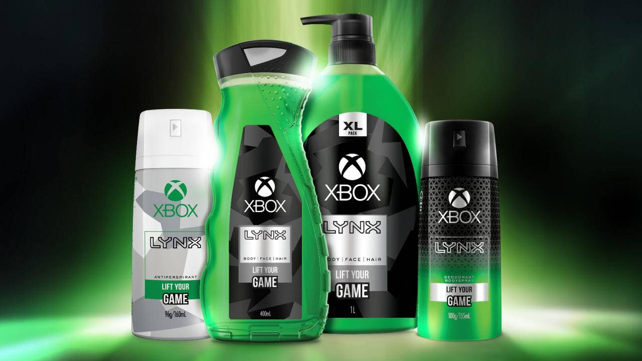 Xbox Lynx body spray will have you smelling like a pro gamer
