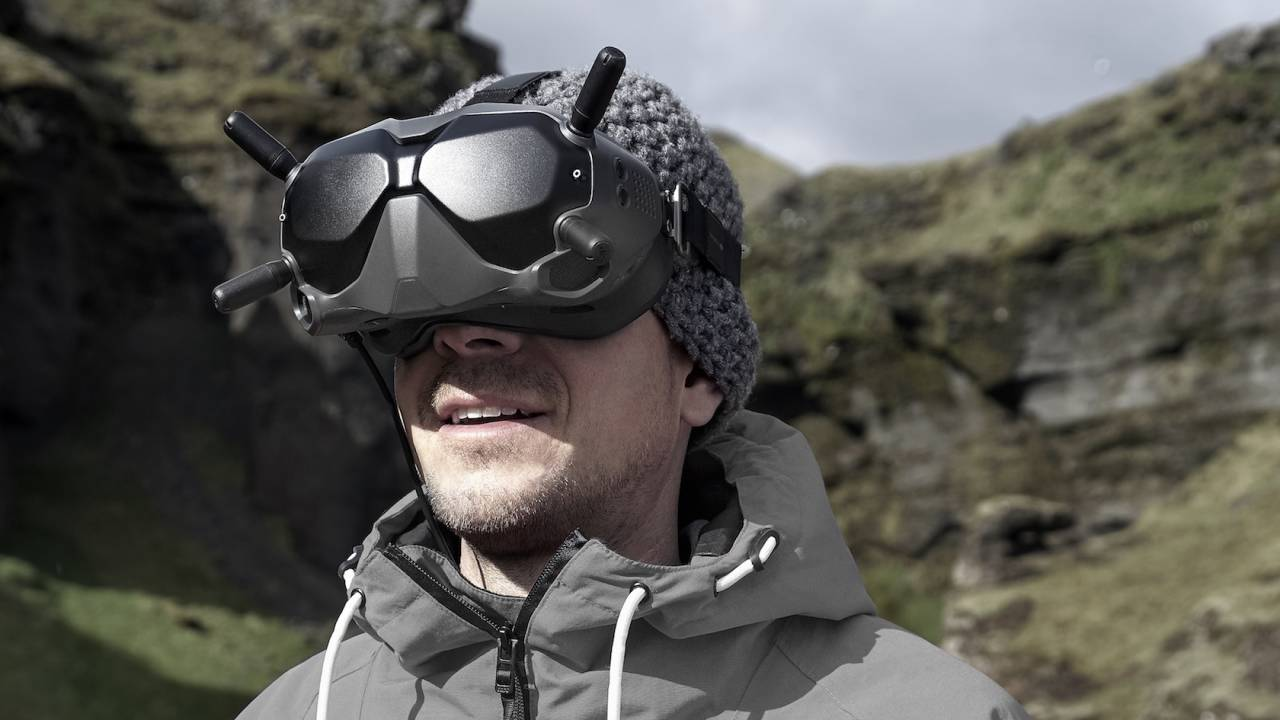 DJI's FPV drone racing goggles tap a 120fps camera