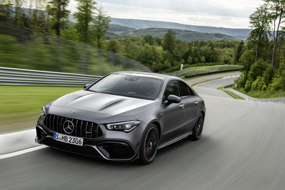 2020 Mercedes-AMG CLA 45 debuts AMG's most powerful turbo-four