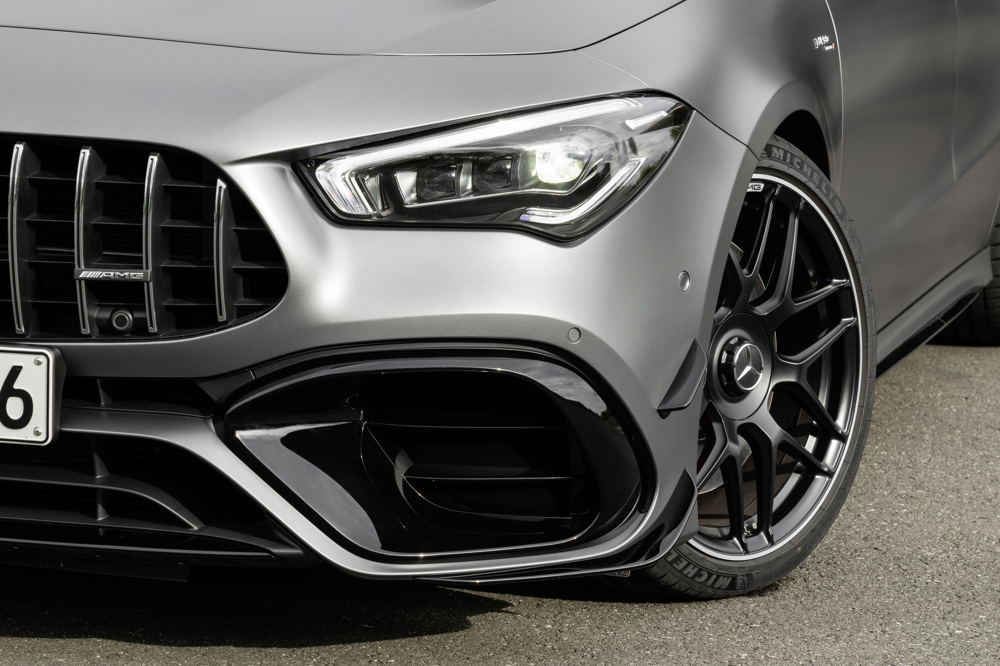 2020 Mercedes Amg Cla 45 Debuts Amg S Most Powerful Turbo