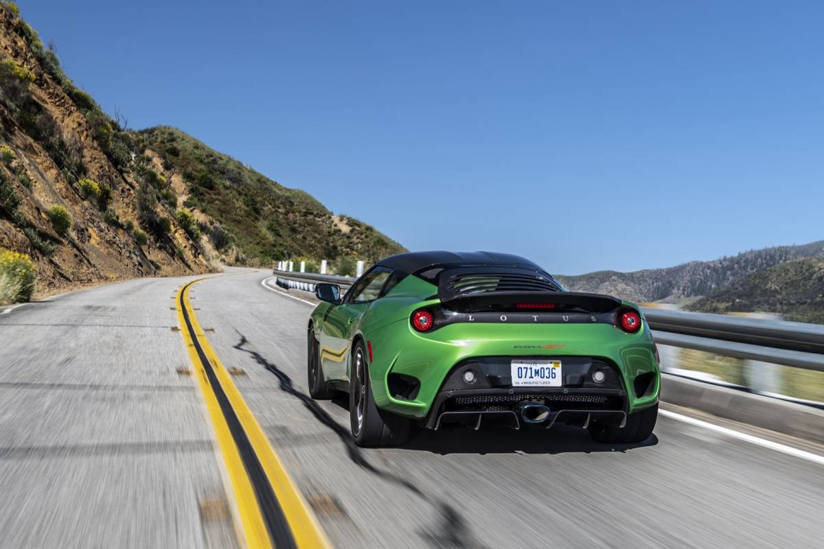 The 2020 Lotus Evora GT has one big advantage over the ...