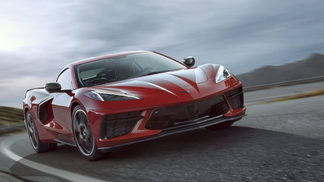 This is the 2020 Corvette Stingray C8